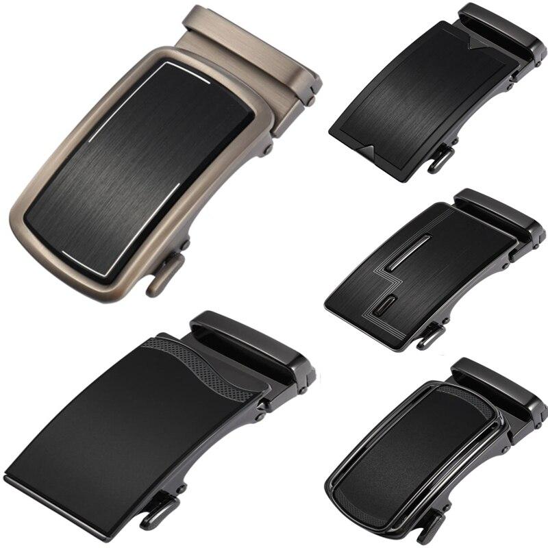 New Men's Business Alloy Automatic Buckle Unique Men Plaque Belt Buckles For 3.5cm Designer Belts Mens High Quality LY136-222473