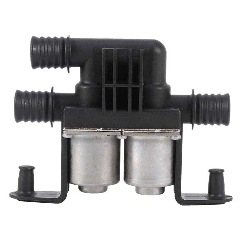 Car Heater Control Valve Dual Solenoid For BMW E39 530 540 E53 X5 64128374995 1147412137