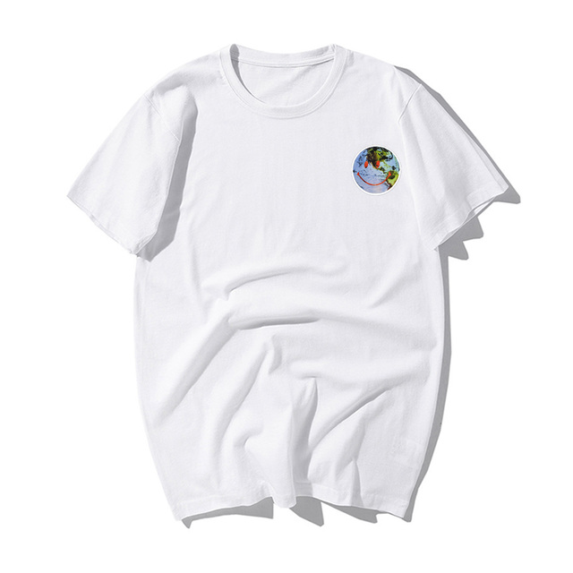 TRAVIS SCOTTS SMILE EARTH T-SHIRT (9 VARIAN)