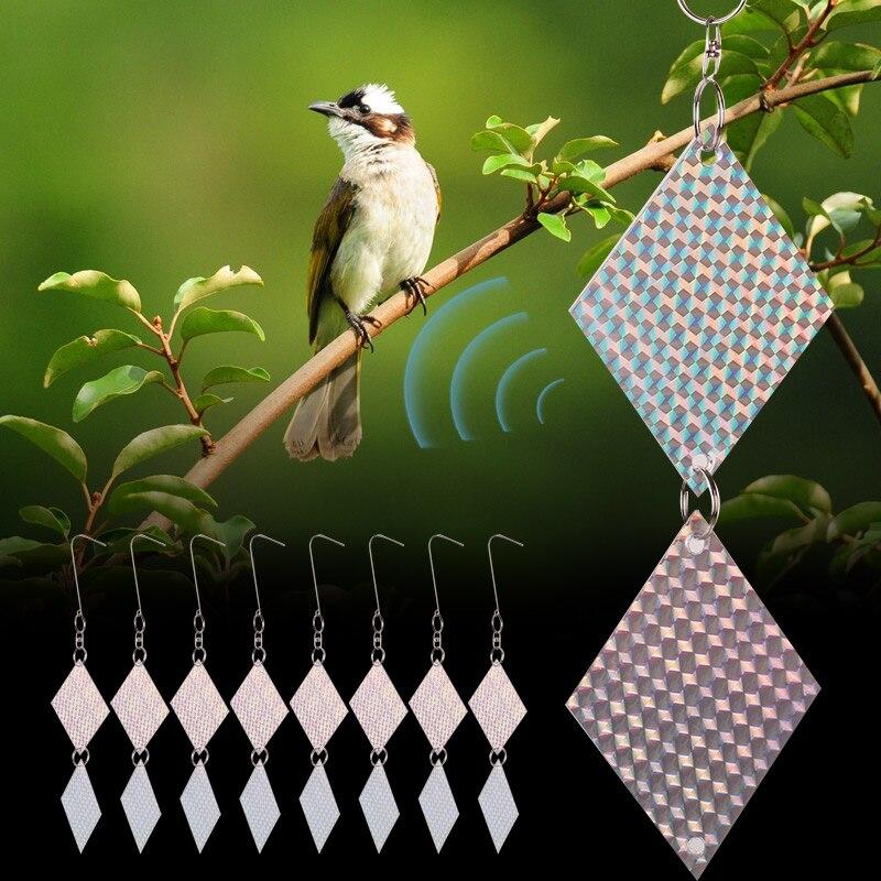 Bird Decoy Hunting Decoy Pest 16PCS/Set Crops From Outdoors Decor Scarecrow Creative Realistic Garden Yard Tree Bird Scare PET Repellents     - title=