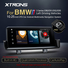 XTRONS 10.25 ''Qualcomm Snapdragon Bluetooth 5,0 Android 10,0 Auto Multimedia Navigation Für BMW 3 Serie E90 E91 E92 E93 KEINE DVD