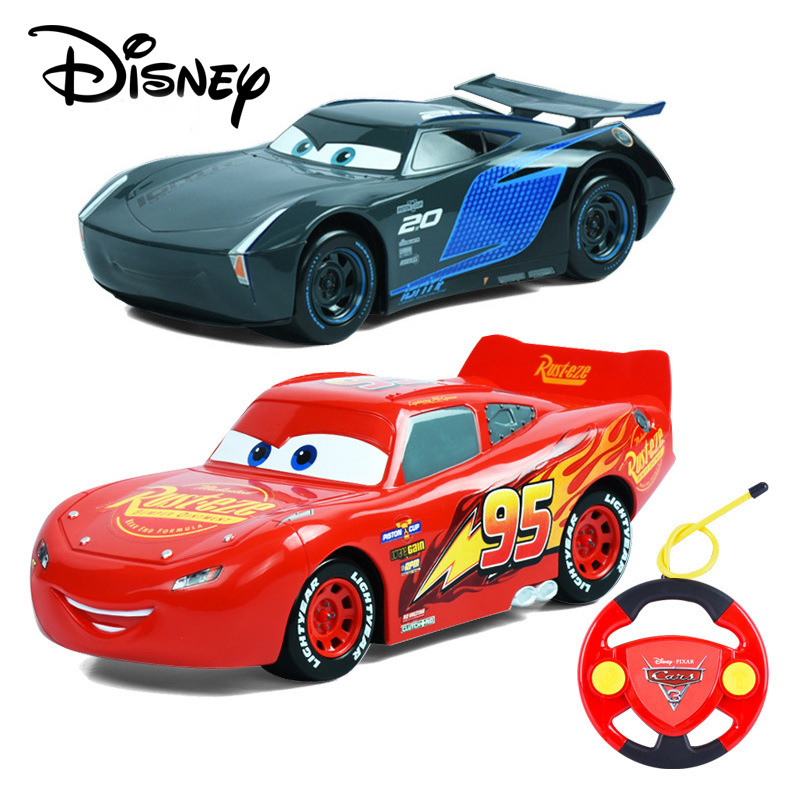 Disney Pixar Car 22cm Jackson Storm Car Remote Control For Kid Lightning McQueen Toy Car Pull Back Car Cruz Ramirez Toy Vehicles