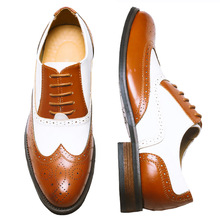 38-48 zapatos oxford de cuero genuino para hombre marrón vintage hechos a mano zapatillas casuales de cuero de vaca zapatos planos 2020