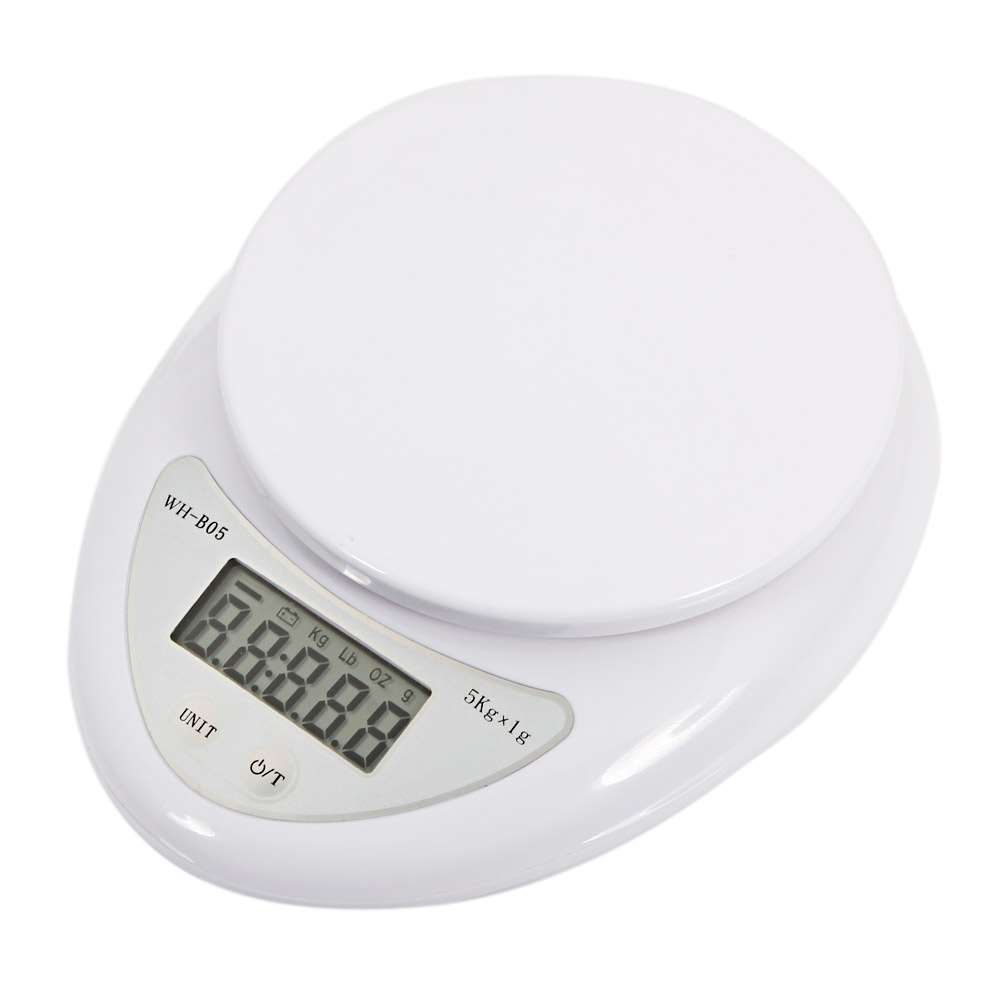 5Kg/1g Kitchen Mail LCD Digital Scale Tools Weight Scale Electronic Weighing Food Health Diet Measuring Balance Jewelry Scale