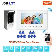 720P AHD 7 Inch Wirless Wifi Smart Video Intercom System RFID Tastatur Code Türklingel Home Security Aufnahme Monitor Fernbedienung entsperren