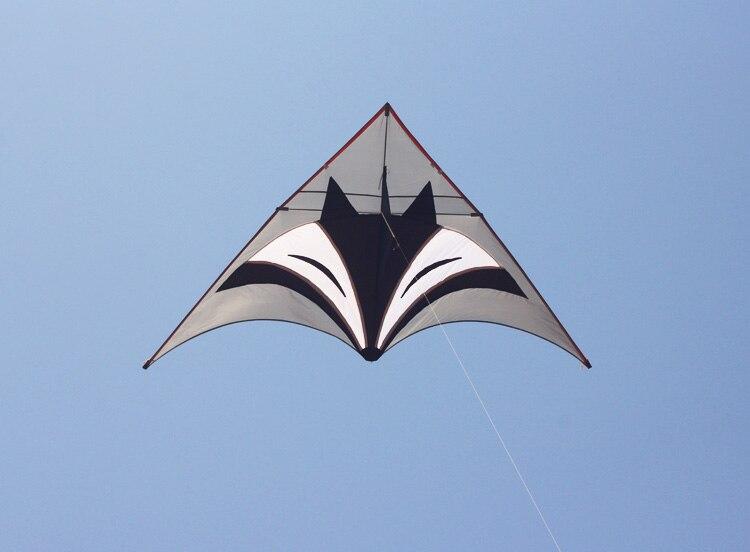 Nouveau cerf-volant DELTA de puissance de SPORTS d'amusement en plein air avec la poignée/ficelle facile à voler
