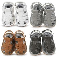 4 Colors Baby Summer Shoes Toddler Outdoor Sport Soft Flat Sandals Non-slip Casual Rubber-soled Children Fashion Shoes