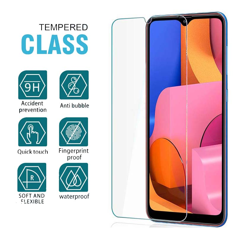 9H HD Full Glue Samsun A20s Glass For Samsung  A20s A20 A20E Protective Glass On The Galax A 20 S E 20s 20e A205F A202 A207 Film