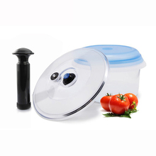 Vacuum  Lid for containers Fresh Keeping Vacuum Preservative Cover  With Pump Food storage  Jars цена