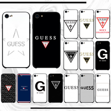 Voor Iphone7 8 Bling Leuke Voor Iphone7 8 Telefoon Geval Door Guess Voor Iphone7 8 7 Plus 8 Plus(China)