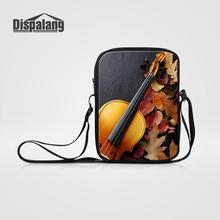 Dispalang новые модные женские сумки-мессенджеры дизайн скрипки Дамская мини сумка через плечо для девочек Повседневная маленькая сумка на плечо клатч с клапаном