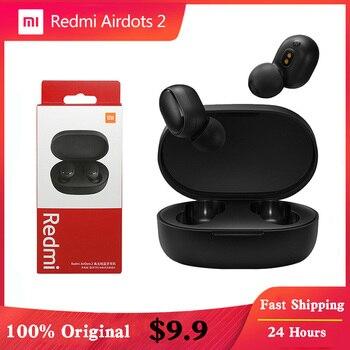 Xiaomi Redmi Airdots 2 Earbuds True Wireless Earphone Bluetooth 5.0 Noise Reductio Headset With Mic Tws Original Xiaomi Airdots 1