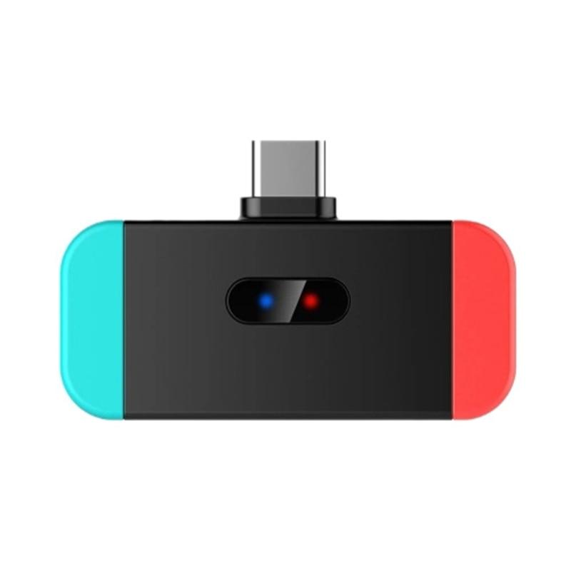 USB-C Bluetooth Audio Transmitter Type-C Audio Adapter for Nintendo Type-C Bluetooth Switch Transmitter