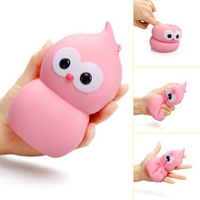 2017 New Arrival Bird Scented Squeeze Doll Kawaii Cute Animal Slow Rising Kid Toy Relieve Stress Cure Doll Gift Fun JK679279(China)
