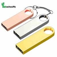 USB de alta calidad de Metal unidad Flash Pen Drive 128GB 64GB 32GB 16GB 8GB mini Pendrive USB 2 0 flash Drive lápiz de memoria usb|Unidades flash USB| |  -