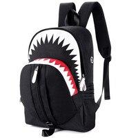 Luminous Backpack USB Charging Port Student Bag Glow In Dark Backpacks Men Polyester Zip Fashion Laptop Backpack 17.7inch