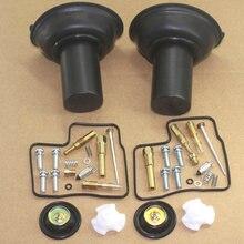 Kit complet de réparation de carburateur pour moto, 2 pièces, pour Honda VLX600 VT VLX 600 2020, nouveau