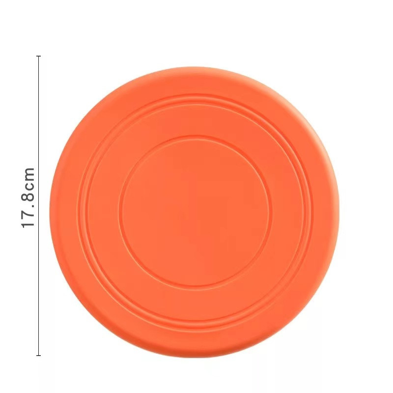 Colorful Toy For Puppy Dog Saucer Games Dogs Toys Large Pet Training Flying Disk Accessories French Bulldog Pitbull Cheap Goods 11