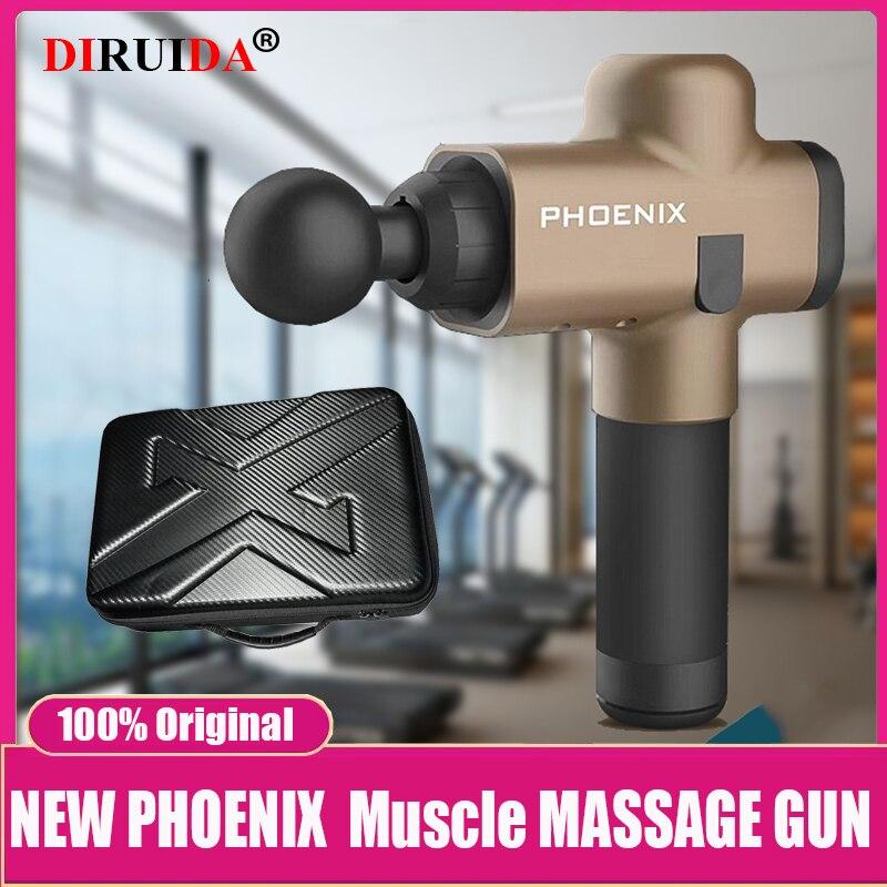 Новый оригинальный пистолет для массажа мышц Phoenix A2, пистолет для глубокого массажа тканей, терапевтический пистолет для упражнений, обезболивания мышц, устройство для коррекции фигуры|Fascia чехол пистолет|   | АлиЭкспресс