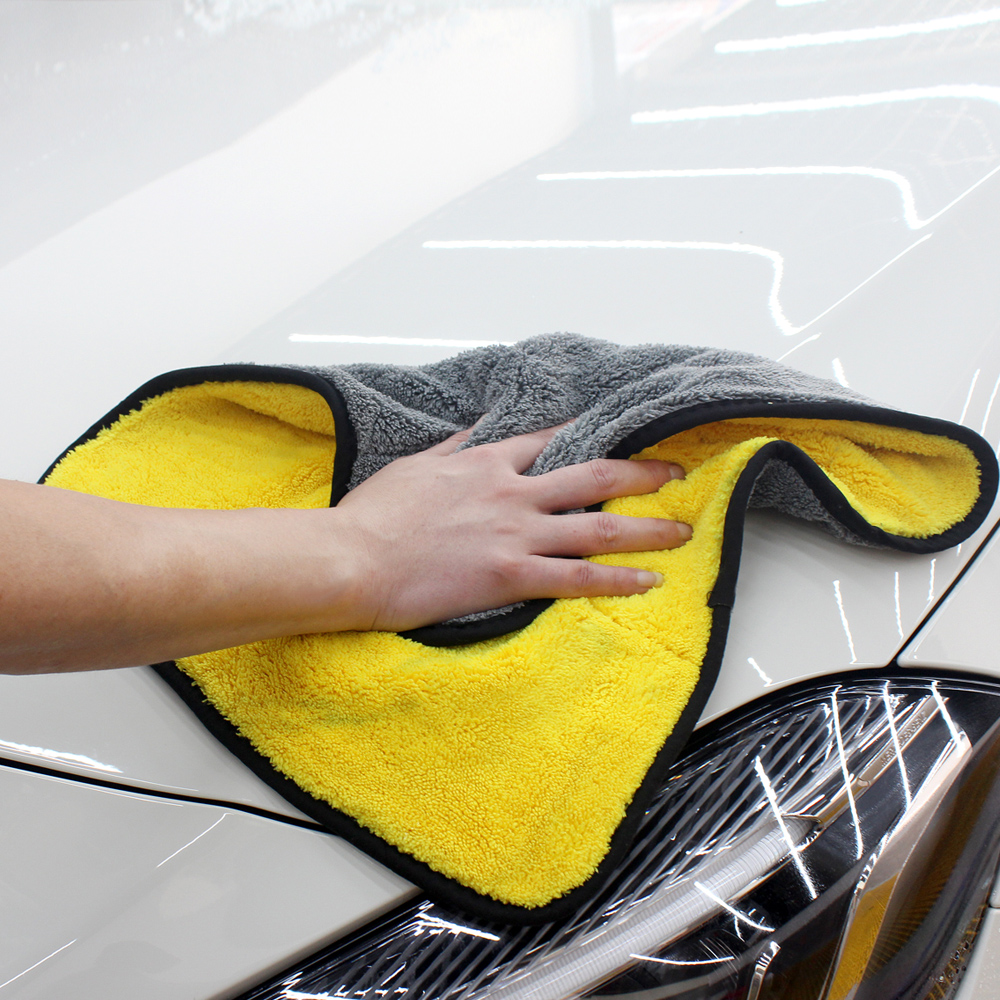 30*30 Microfiber Towel Car wash for Clay Bar Auto Chemical Goods Polishing Sponge Lavage Auto Microfiber Glove Car Wash Towel image
