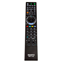 RM L1108 Remote Control for Sony BRAVIA W/XBR/ Series LCD Television with backlit KLV 52W300A KDL 40W3000 RM GA017 RM YD017