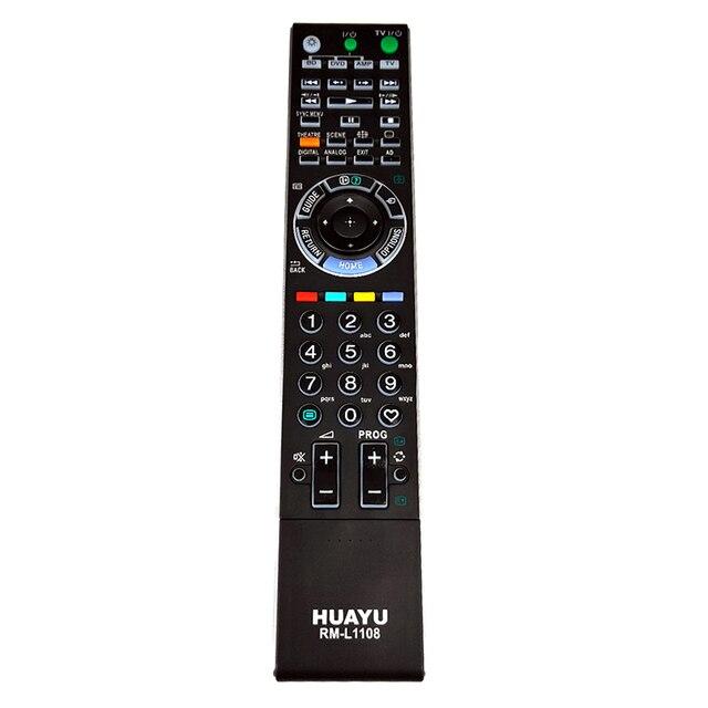 RM L1108 pilot do Sony BRAVIA W/XBR/ Series LCD telewizor z podświetleniem KLV 52W300A KDL 40W3000 RM GA017 RM YD017