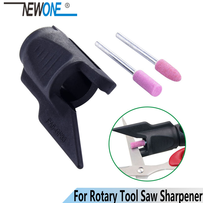 NEWONE Saw Sharpening Attachment Sharpener Guide Drill Adapter For Dremel Drill Rotary