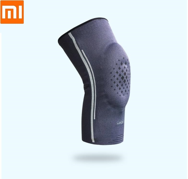 Xiaomi NEW AIRPOP Sport Knee Pads Comfortable And Breathable High Elastic Silicone Ring Sports Knee Pads Protective Gear