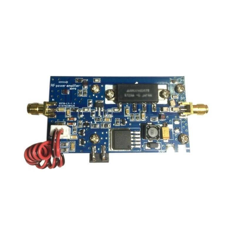 Free Shipping Half Duplex UHF 400-470MHZ Power Amplifier AMP 433mh For MMDVM Hotspot DMR, DPMR
