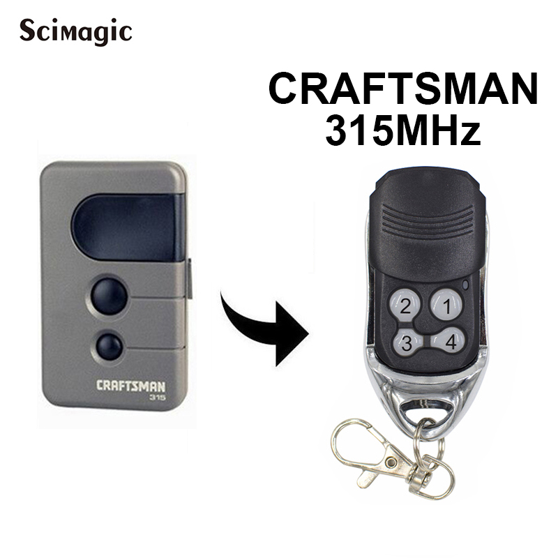 Garage Door Opener Sears Craftsman 315 139.53753 Remote Control 315 MHz
