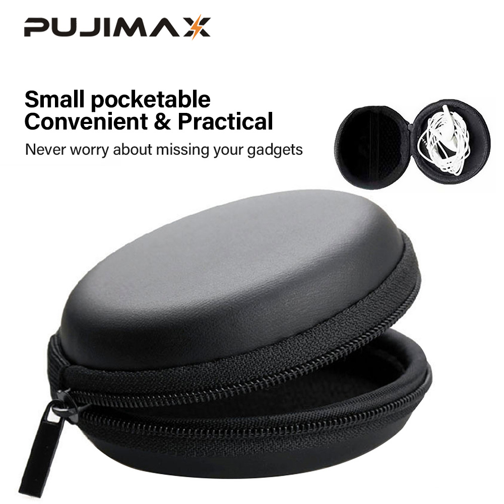 PUJIMAX Zipper Storage Bag Mini Lightweight Storage Suitable For Headphone Memory Card USB Flash Drive USB Cable All Small Items