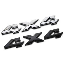 DSYCAR 1 pz 3D ABS 4X4 a quattro ruote motrici adesivo emblema distintivo per Jeep BMW Ford Nissan Audi VW Honda auto Lada Chevrolet nuovo