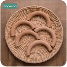 Bopoobo Semi Ring Beech 50pcs Wooden Unicorn Teething Three