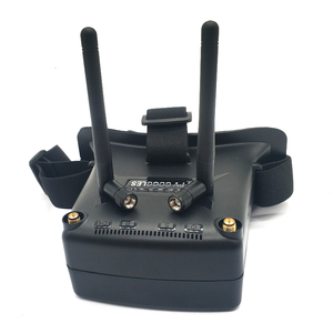 Image 5 - 5.8G 48CH VR005 2.7 Inch 960*240 FPV Goggles With 25/100/200mW transmitter launcher+Fpv Mini  butterfly camera for FPV Drone