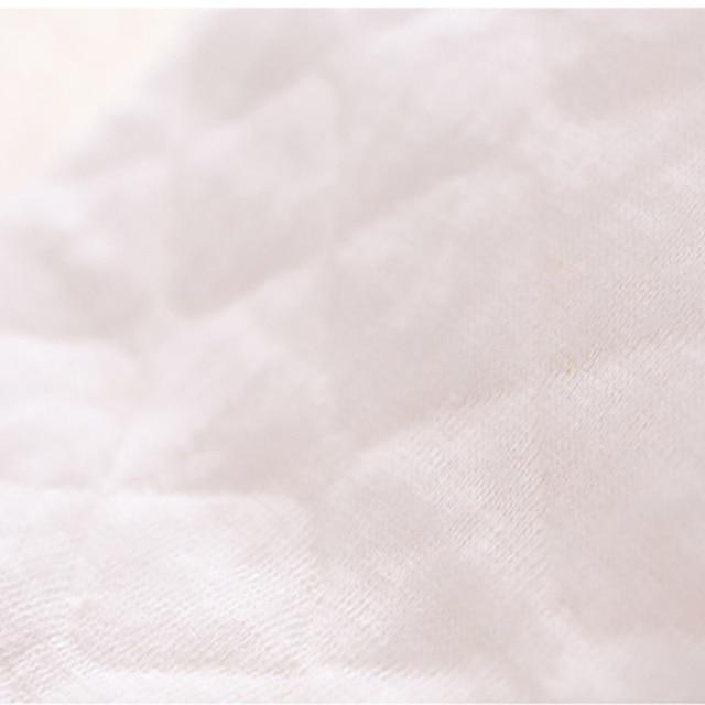 12PCS(6 pairs) 3 layers cotton Reusable Breast Pads Nursing Waterproof Organic Plain Washable Pad Baby Breastfeeding Accessory Accessories Feeding