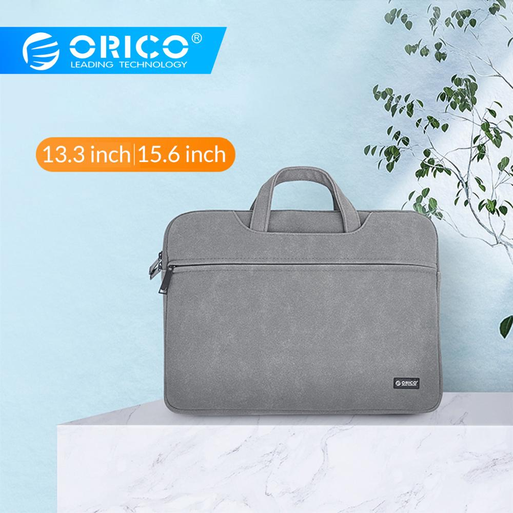 ORICO Laptop Sleeve Bag Briefcase Case For Macbook Air Pro 13.3 15.6 Notebook Protective Cover For Dell Acer Business Handbag