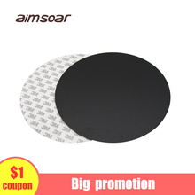 3D printer Round film sticker 200mm/220mm sticker for Kossel Delta 3D printer heat bed plate 3D printer parts aimsoar round heatbed hot bed pcb delta 300mm for kossel delta 3d printer