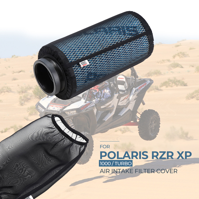 Black Car Dust Cover Air Intake Filter Protective Cover for Polaris RZR XP1000 XP4 1000 2014 2018 2015 2016 2017