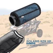 Zwarte Auto Stofkap Air Intake Filter Beschermhoes Voor Polaris Rzr XP1000 XP4 1000 2014 2018 2015 2016 2017