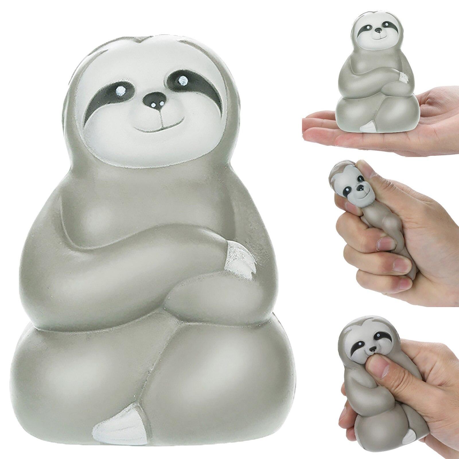 Jouets de compression de paresseux doux mignon drôle jouets de soulagement de Stress parfumés de fruits en hausse lente Mini jouets d'animaux de bande dessinée belle pour des cadeaux d'adultes