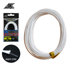 JK 3packs DIY Assist Hook Lines 60-170LB Slow Jigging Line 0.85-1.45mm PE Nylon Core Braid Fishing For Fishhooks Solid Ring