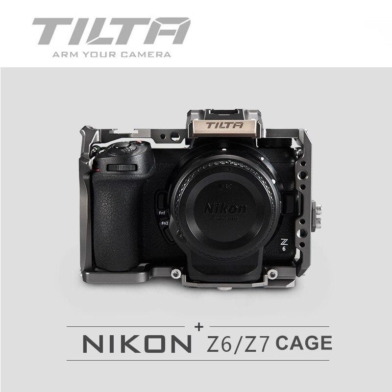 Cage de reflex numérique Tilta Z6 Z7 pour appareil photo NIKON Z6 Z7 TA-T02-FCC-G appareil photo reflex numérique