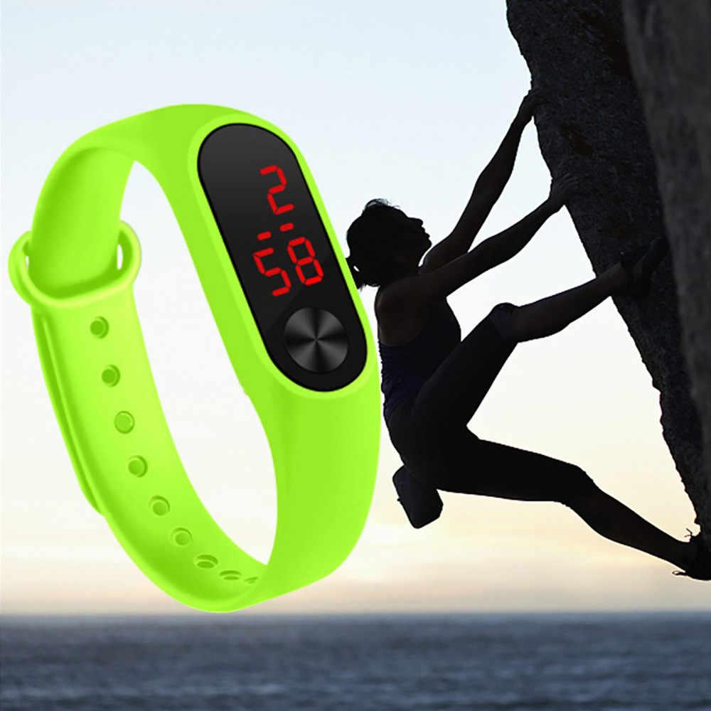 Montre de Sport chaude femmes hommes anneau de main montre LED de mode décontracté montre électronique Drop Shopping Reloj deportivo para mujer Wd3sea