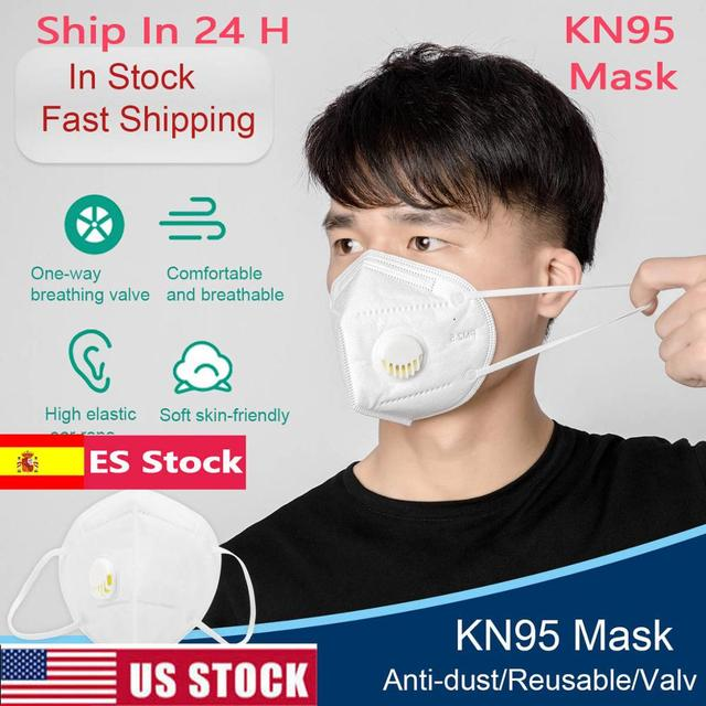 5/10/50pcs Ship In 24h Flu Anti Infection KN95 Mask n95 Particulate Respirator PM2.5 Protective Safety Same As KFP4 FFP3 Mask
