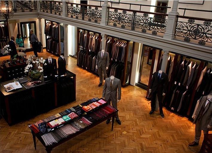 100% Real Photo Grigio Paisley Smoking Collo a Scialle Mens Wedding Dinner Party Prom Abiti Sposo (Jacket + Pants + vest + Tie) NO: 1477 - 6