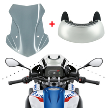 Deflector-Protector Windshield Gs-Adventure R1250GS BMW for 1200 Wide-Lens Rearview-Mirrors