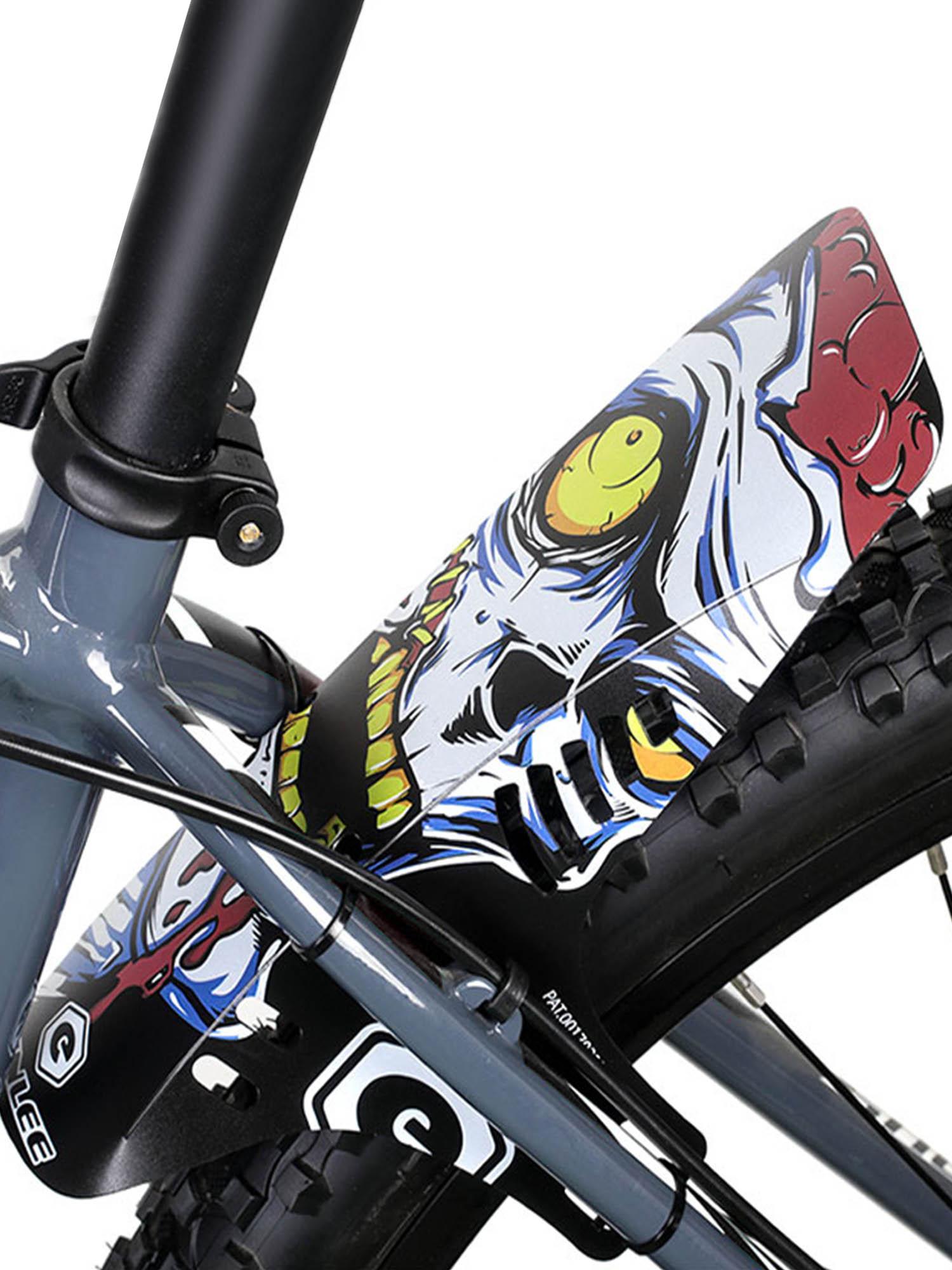MTB Bicycle Fender Mountain Road Bike Front Rear Plastic Mudguard Rainplate Bike Wings Mud Guard Bicycle Accessories for Bicycle