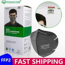 Ffp2masque Powecom masques FFP2 réutilisables PM2.5 protection 95% Filtration FFP2 bouche masque à moufle masque respiratoire avec CE masque jetable mascherine