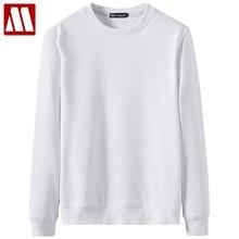 Sweatshirts Hoodies Long-Sleeve Flannel Autumn Winter Unisex Women Cotton Solid O-Neck