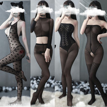 Sexy lingerie porno teddy erotic lingerie hot bodysuit hot women sexy costumes open crotch underwear intimate hose stockings hot cheap GOYHOZMI CN(Origin) Polyester Spandex Body Suit Flannel 9o0pphnn443 fit for hip about 90-104cm waist 58-79cm bust 86-102cm